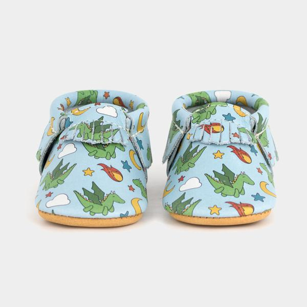 Dragons | Pre-Order Moccasins Soft Soles