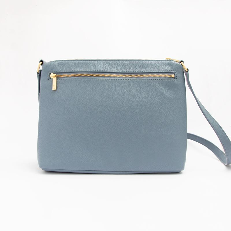 Dusty Blue Classic Crossbody