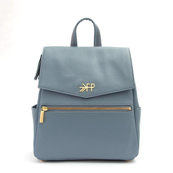 Dusty Blue Mini Classic Bag