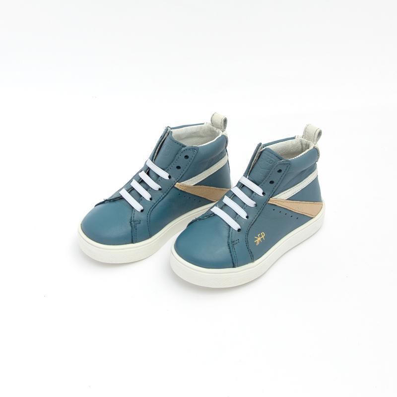 Dusty Blue High Top Sneaker