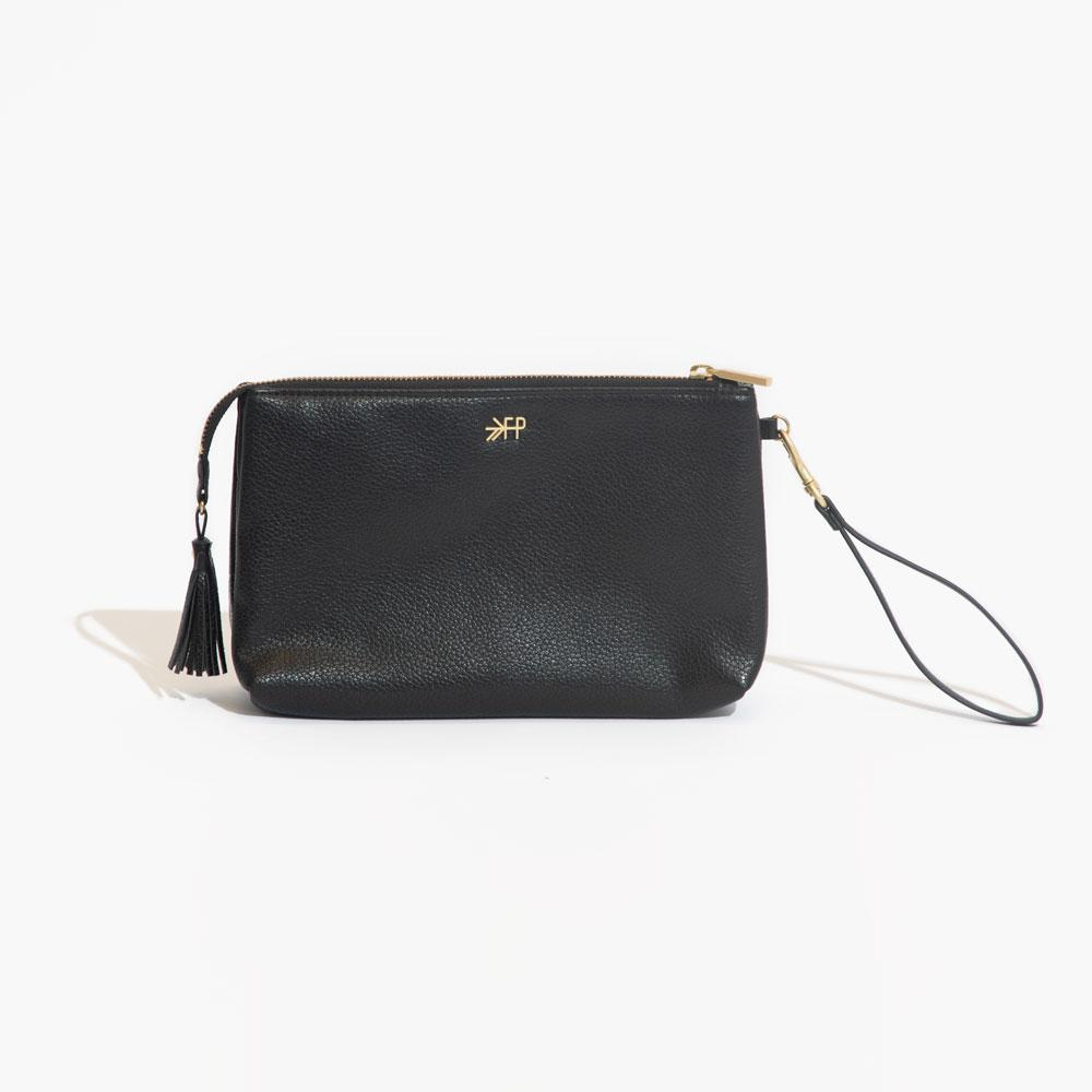 Ebony Classic Zip Pouch Classic Zip Pouch Bag Accessory
