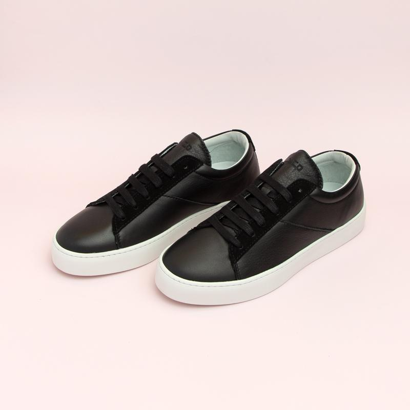 Women's Ebony Classic Lace-Up Sneaker Women's - Lace-Up Women's Sneakers