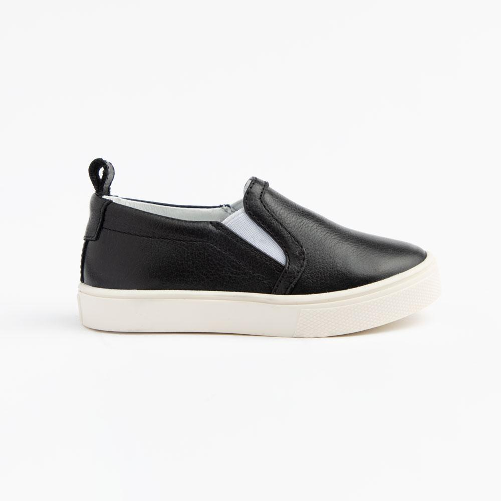 Ebony Slip On Sneaker Kids - Classic Slip-On Sneaker Kids Sneakers