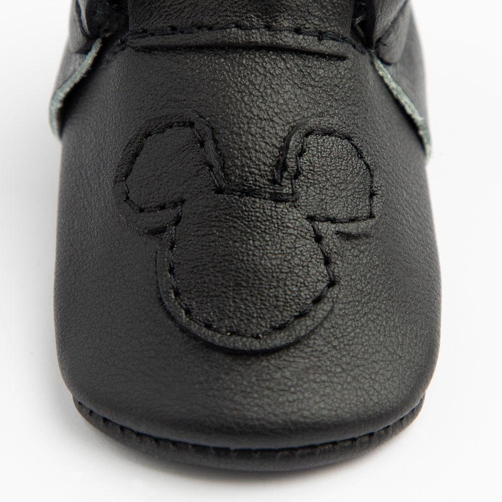 Ebony Mickey Mouse City Mocc Mini Sole Mini Sole City Mocc mini soles
