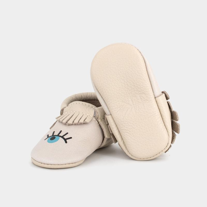 Eye See You Moccasins Soft Soles