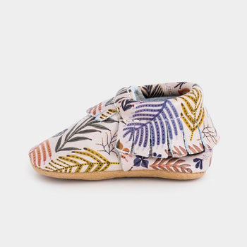 Ferns and Flora | Pre-Order Moccasins Soft Soles