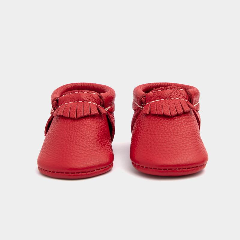 Fire Engine City Mocc Mini Sole Mini Sole City Mocc Mini soles