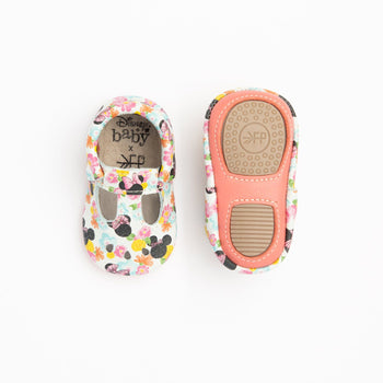 Floral Minnie Mary Jane Mini Sole | Pre-Order