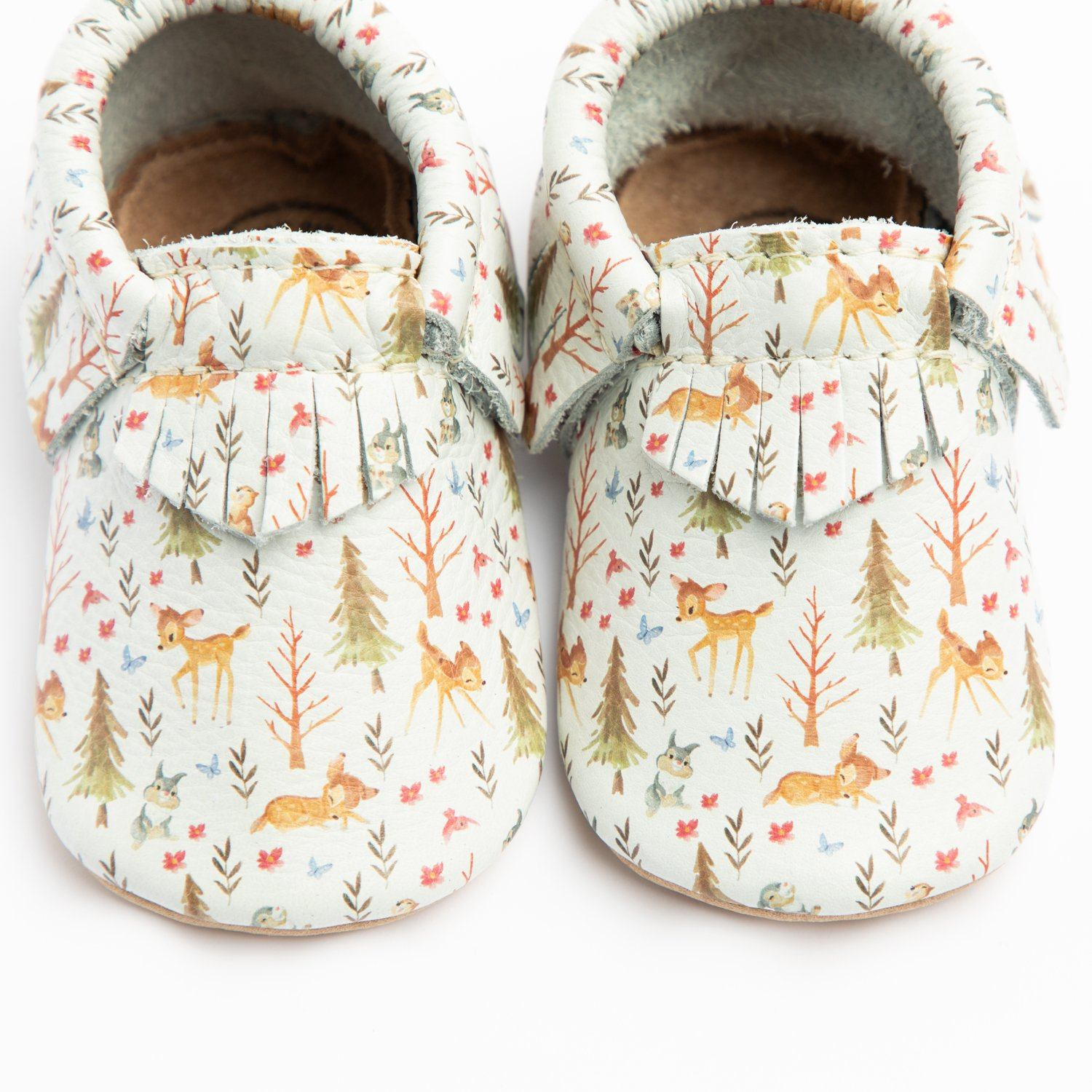 Forest and Friends Moccasins Soft Soles
