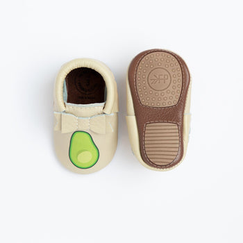Fresh Avocado Bow Mocc Mini Sole | Pre-Order Mini Sole Bow Moccasin Mini soles