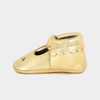 Gold Mary Jane Mary Janes Soft Soles