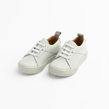 Gray with Pearlized Gray Classic Sneaker