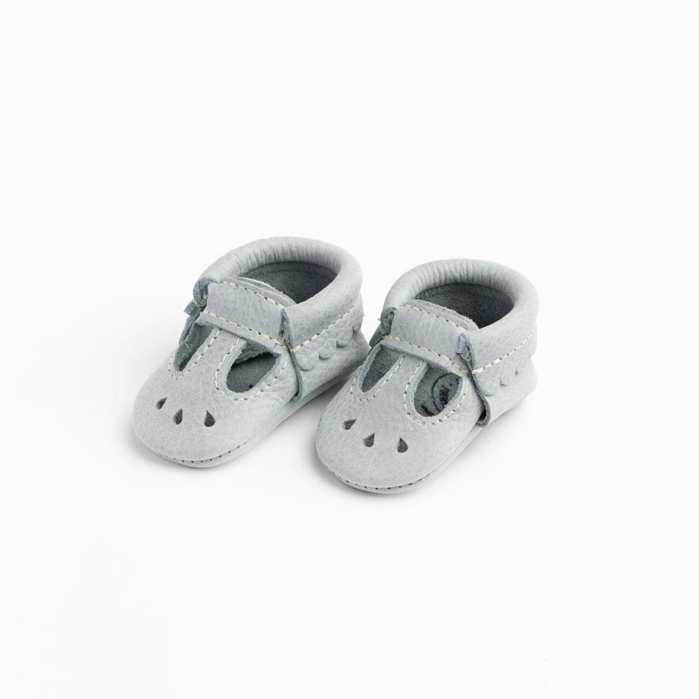 Newborn Greatest Snow on Earth Mary Jane Newborn Moccasin soft sole