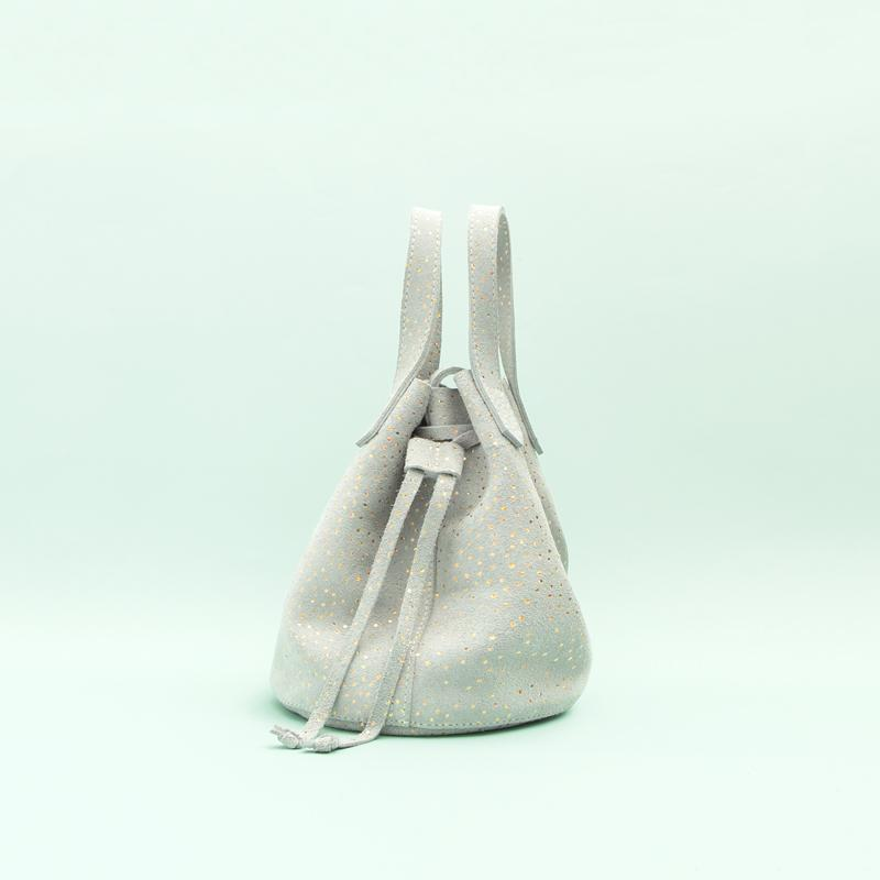 Grey Confetti Bucket Bag Bucket Bag Bags