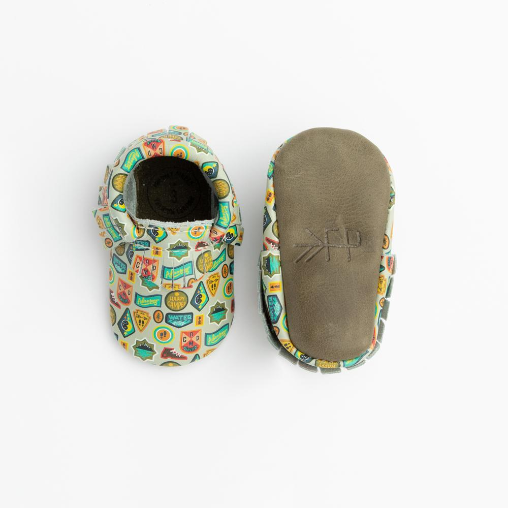 Happy Camper Moccasins Soft Soles