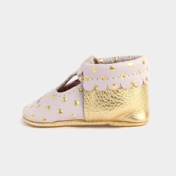 Heirloom Blush & Gold Mary Jane Mary Janes Soft Soles