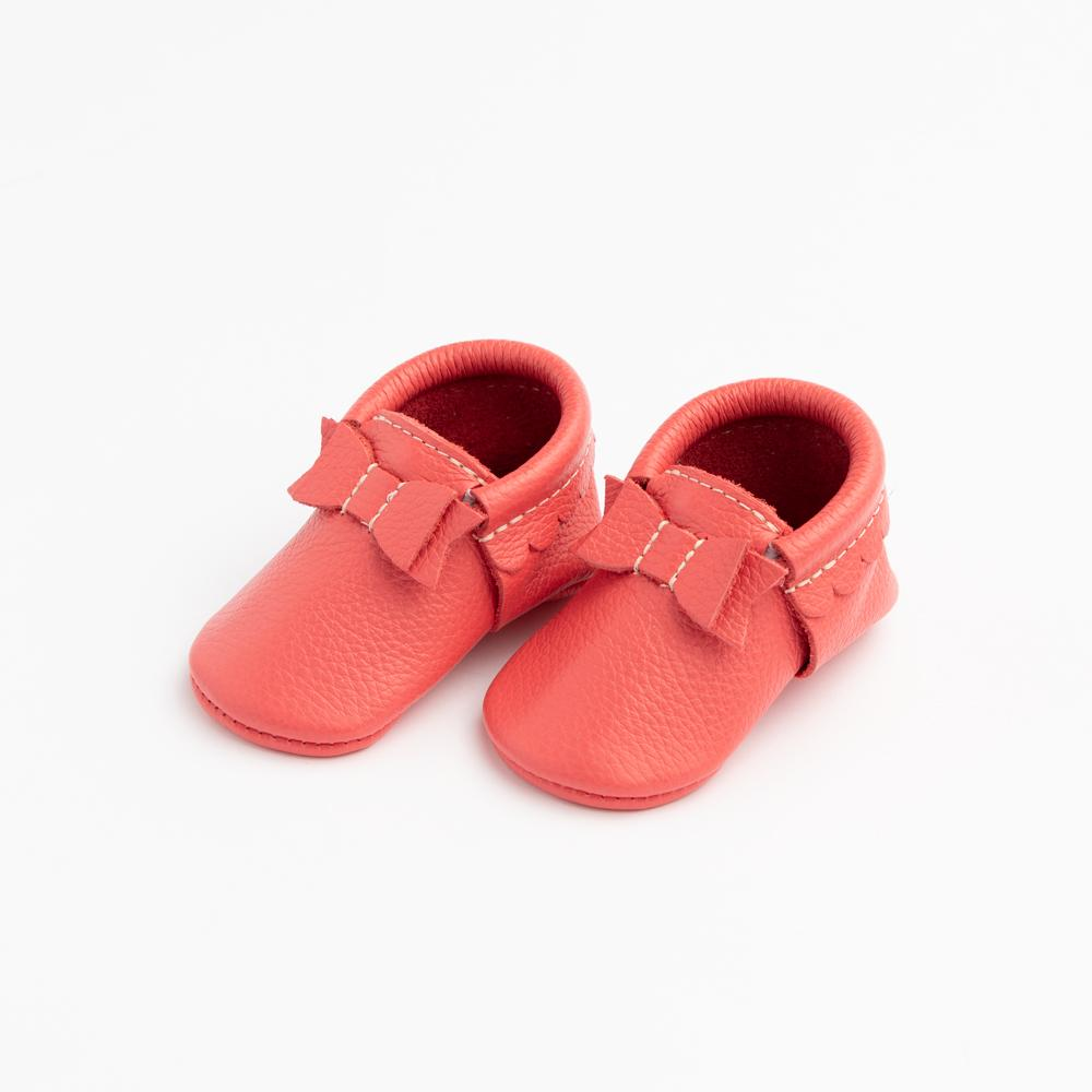 Hibiscus Bow Mocc Mini Sole Mini Sole Bow Moccasin mini soles