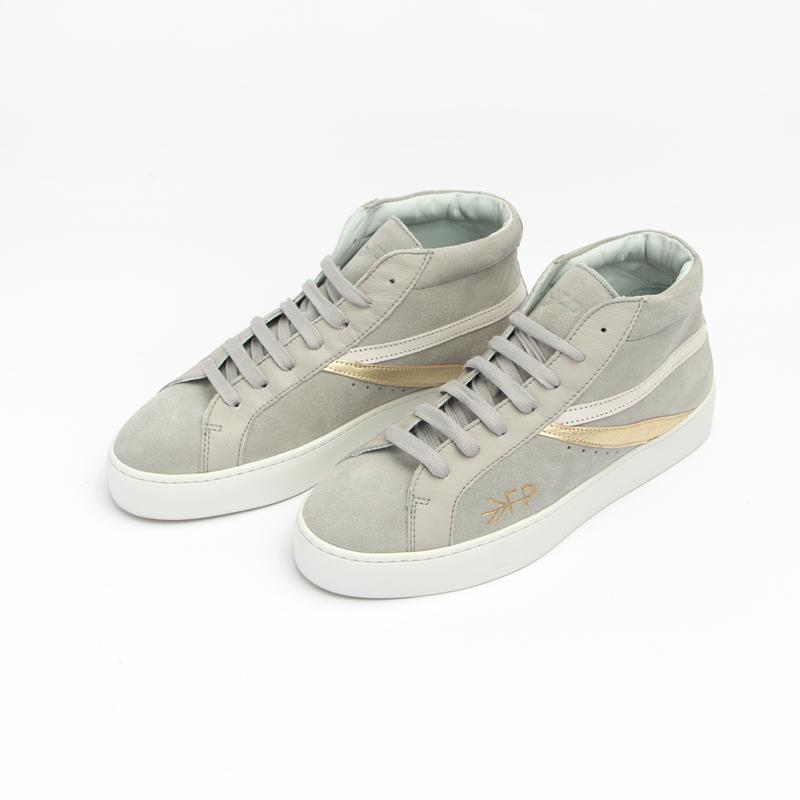 Women's Grey High Top Sneaker Women's - High Top Women's Sneakers