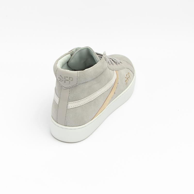 Women's Grey High Top Sneaker