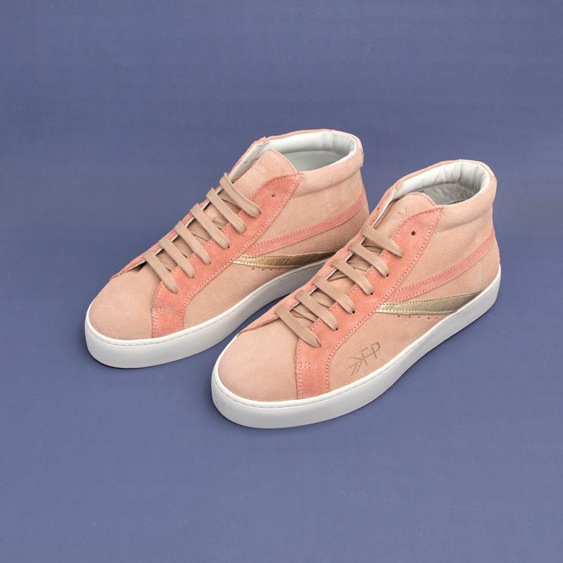 Women's Blush High Top Sneaker Women's - High Top Women's Sneakers