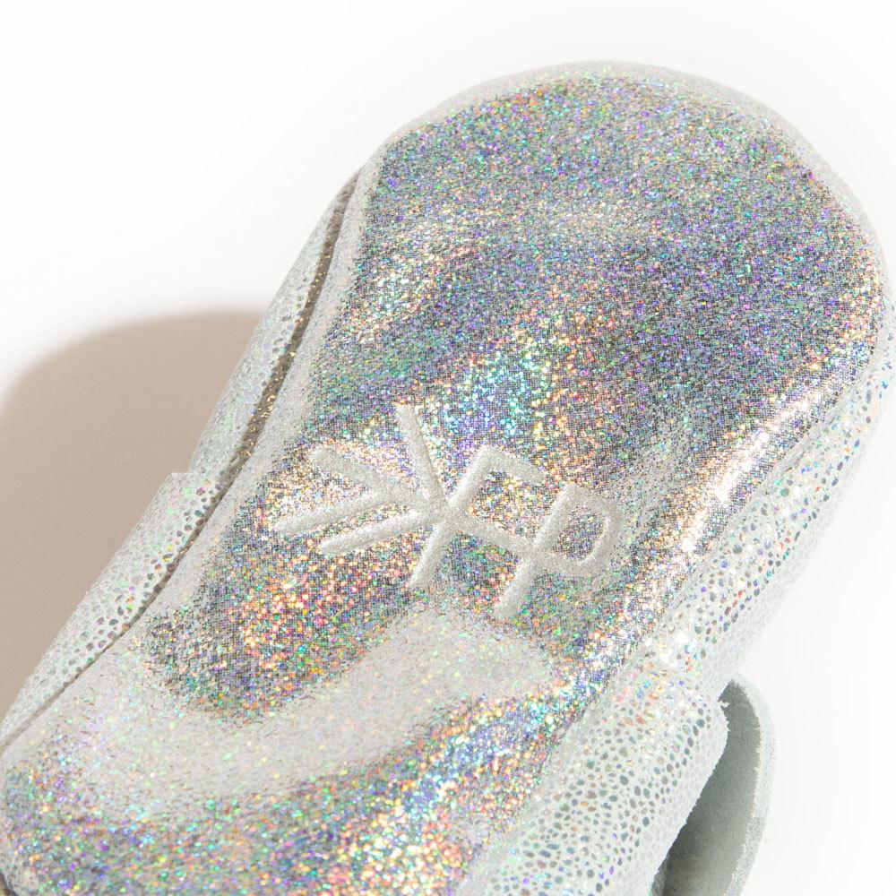 Hologram Knotted Bow Mocc knotted bow mocc Soft Soles