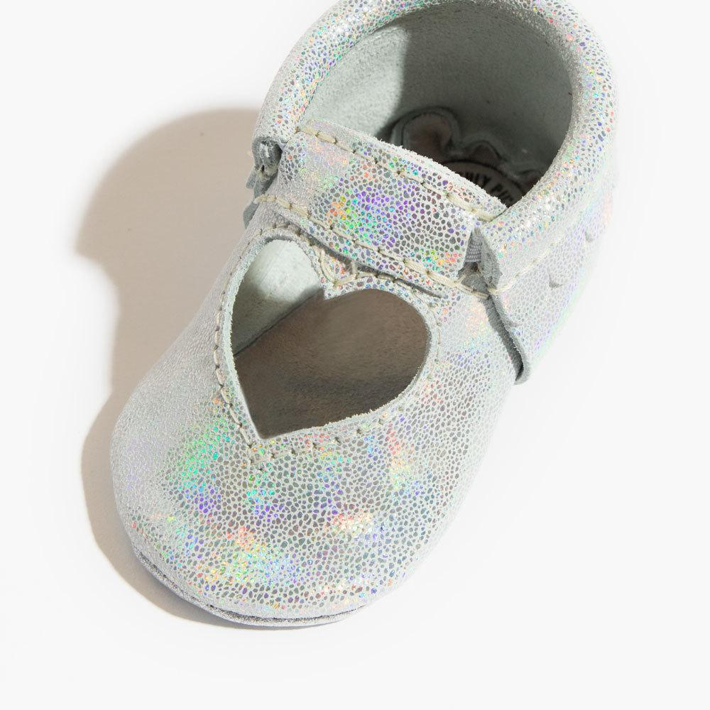 Hologram Sweetheart Ballet Flat Mini Sole Sweetheart Ballet Flat mini sole
