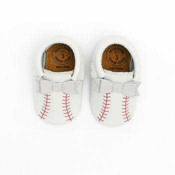 First Pitch Bow Mocc Bow Moccasins Soft Soles