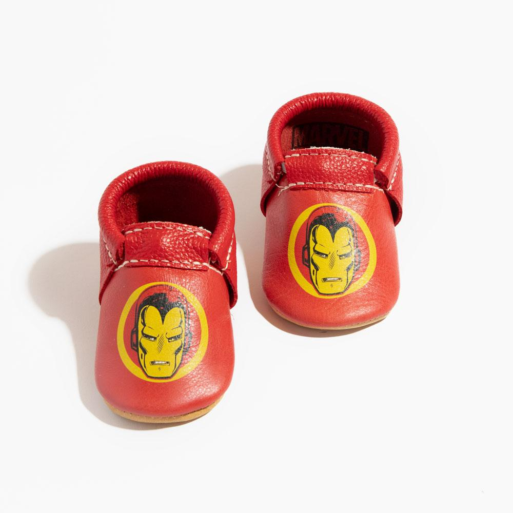 I Am Iron Man City Mocc City Moccs Soft Soles