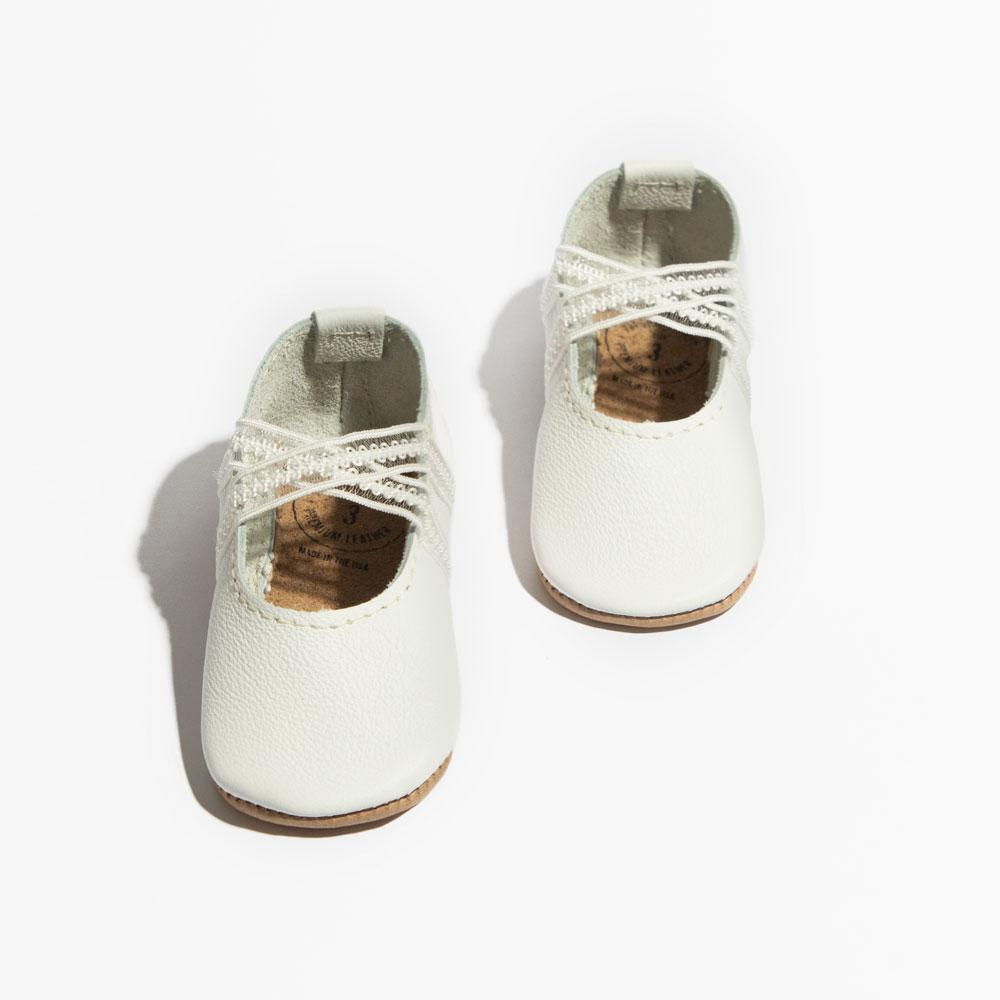Ivory Ballet Slipper Mini Sole Ballet Slipper Mini Sole