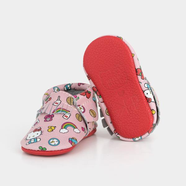 Just Say Hello! Moccasins Soft Soles
