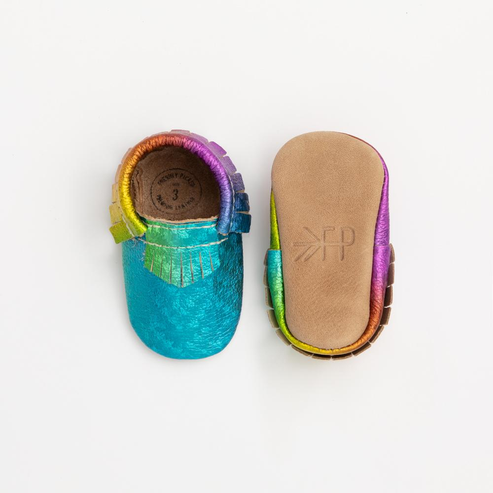 Kaleidoscope Moccasins Soft Soles