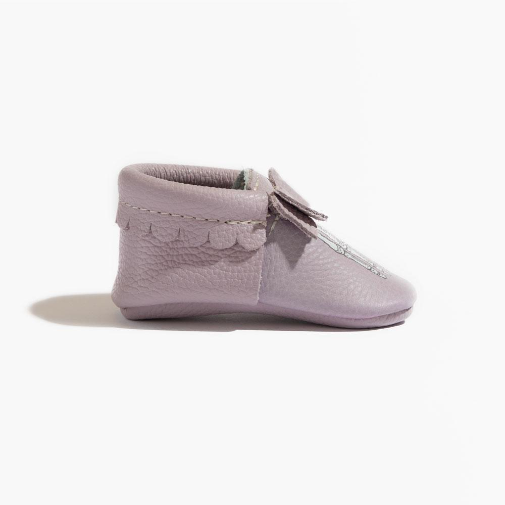 Lady Bones Bow Mocc Bow Moccasins soft sole