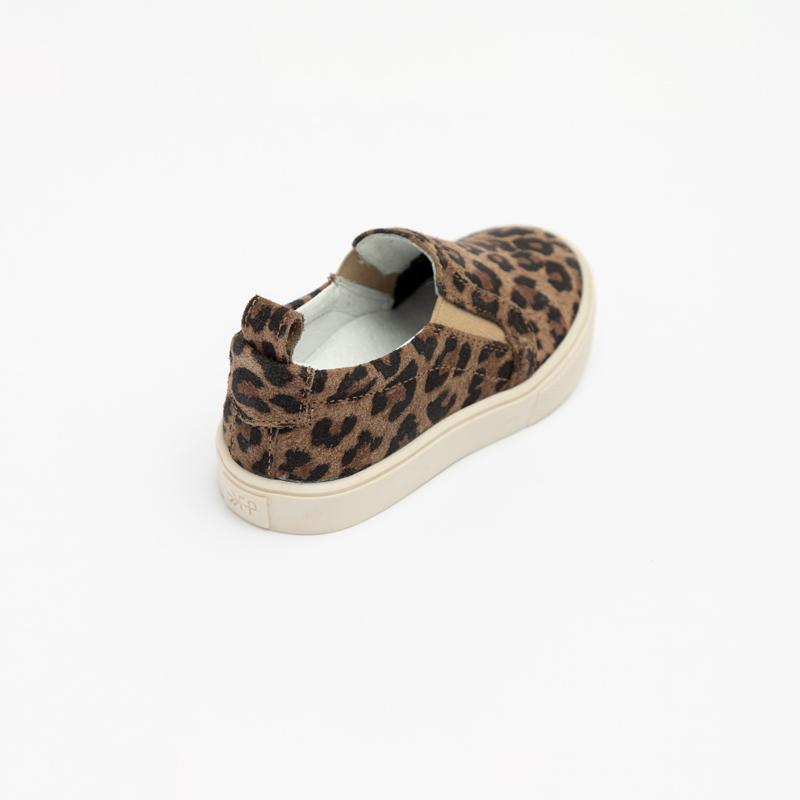 Leopard Slip-On Sneaker Kids - Classic Slip-On Sneaker Kids Sneakers