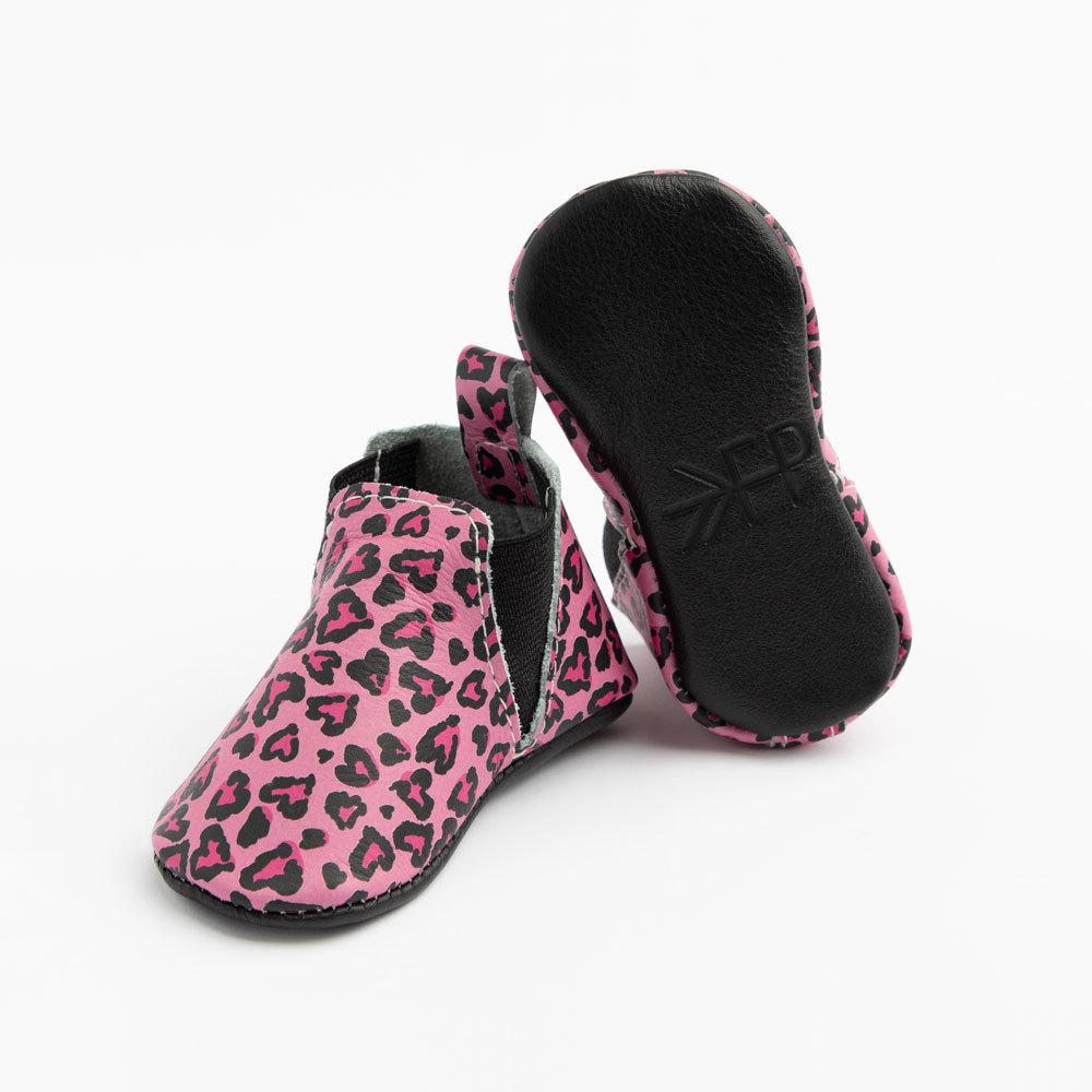 Leopard Hearts Chelsea Boot Chelsea Boot Soft Soles