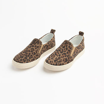 Leopard Slip On Sneaker (Youth) Kids - Slip-On Sneaker Kids Sneakers
