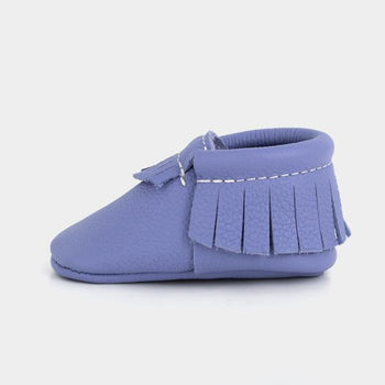 Lilac Moccasins Soft Soles