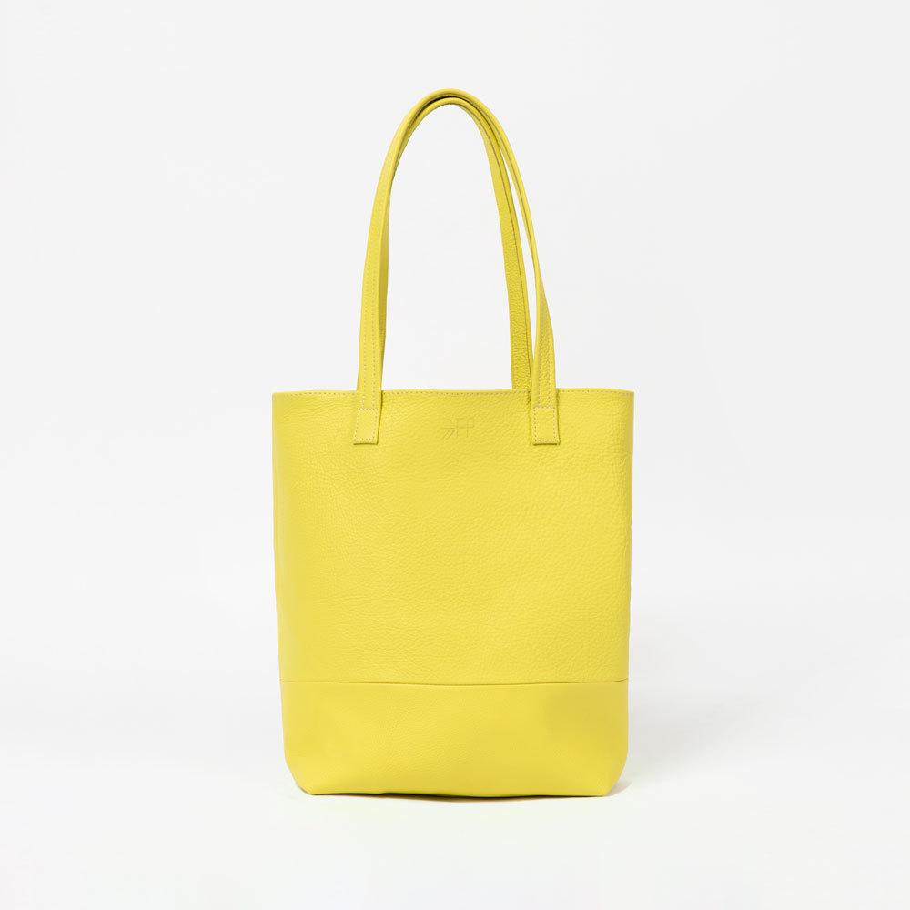 Lime Leather Tote Bags Lindon Bags