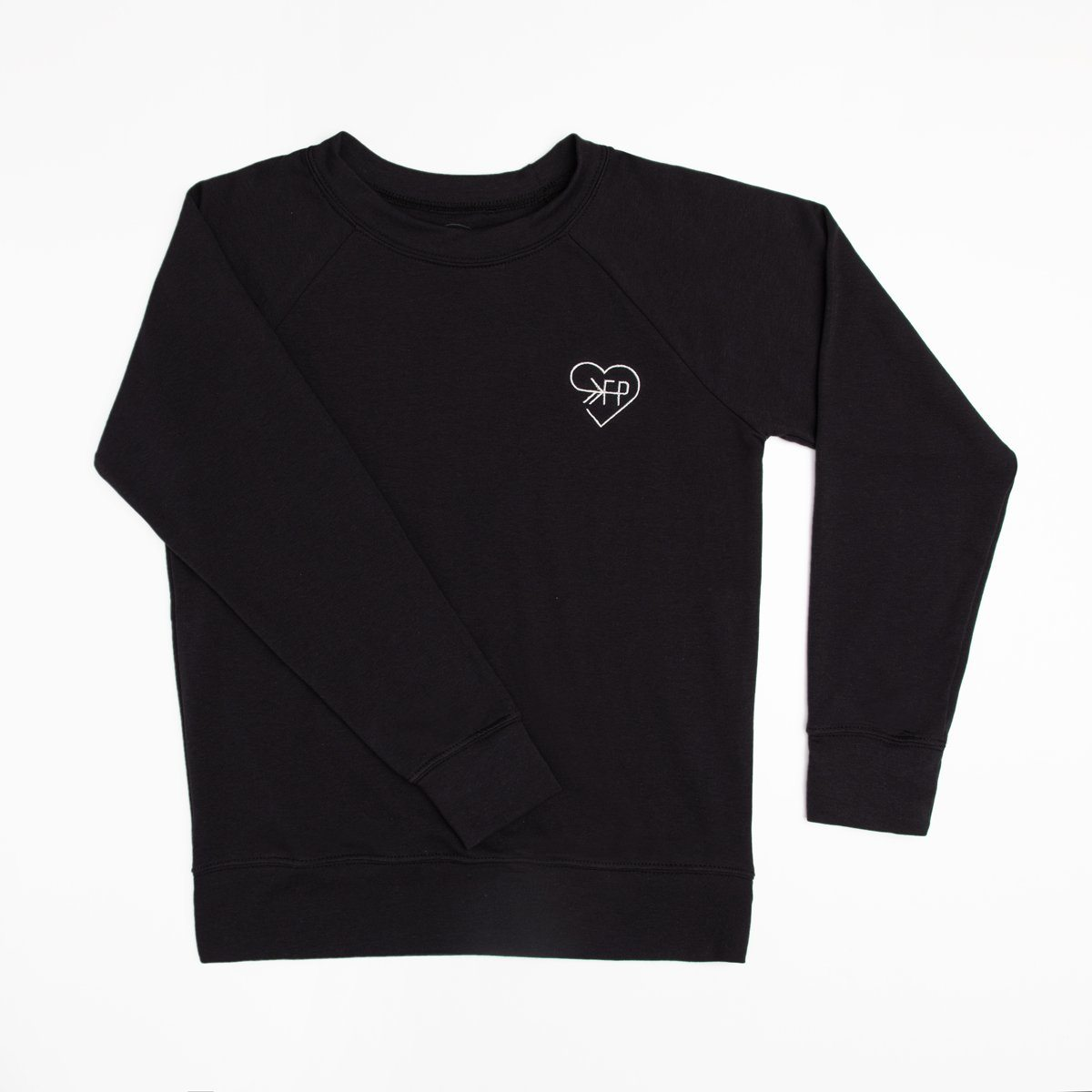 Love FP Black Crew Sweatshirt