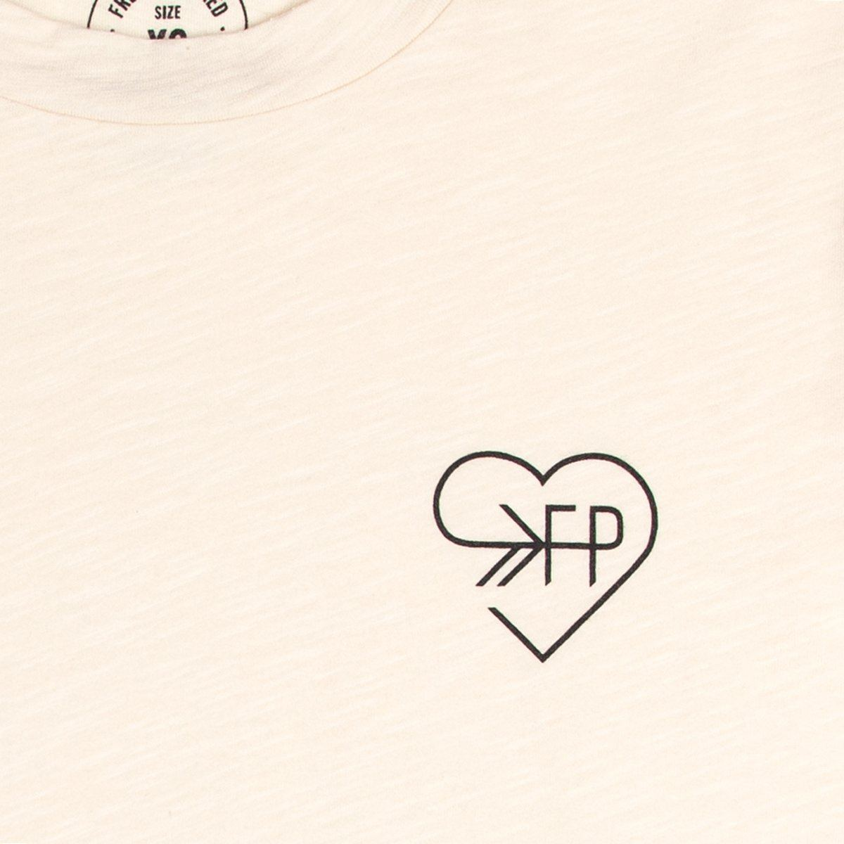 Love FP Cream Slub Tee Women's - Tee Women's Clothing
