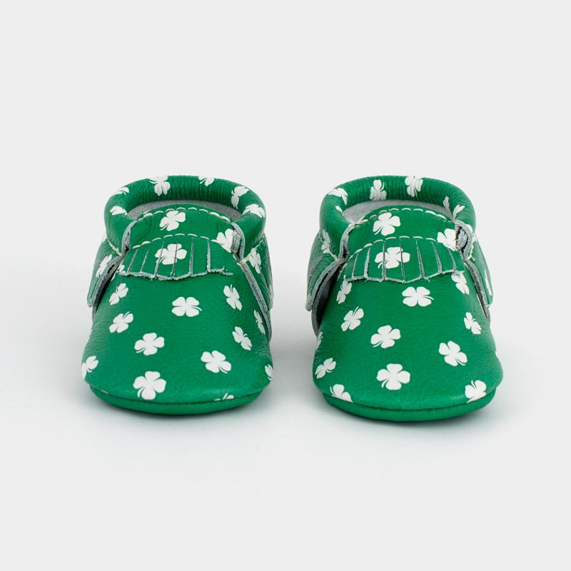 Luck of the Irish Moccasins Soft Soles