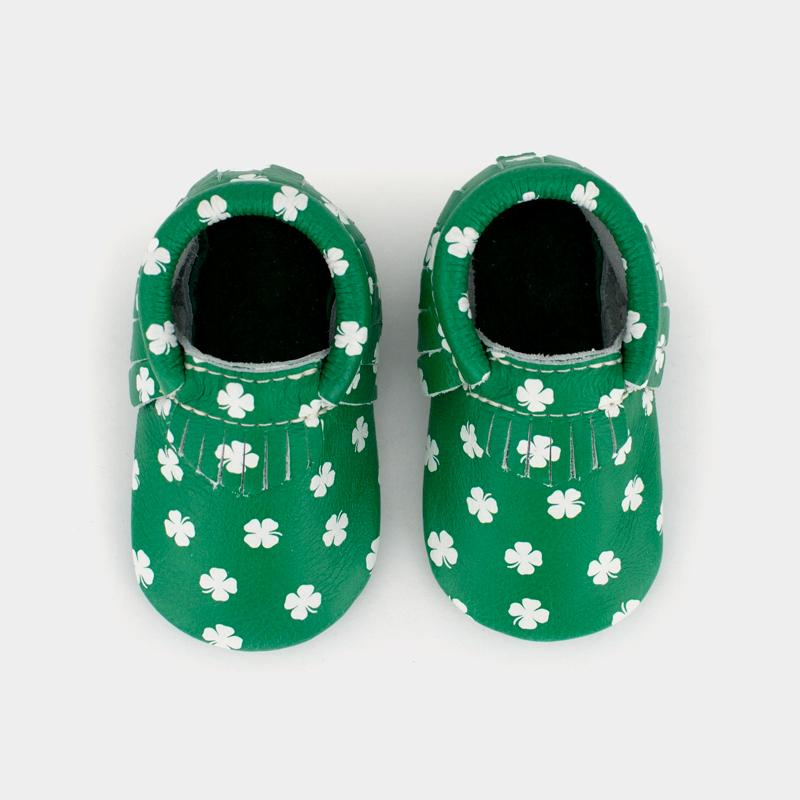 Luck of the Irish Mini Sole Mini Sole Mocc mini soles