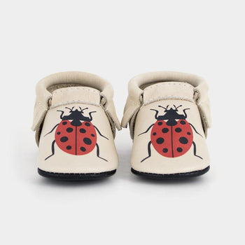 Lucky Bug Moccasins Soft Soles
