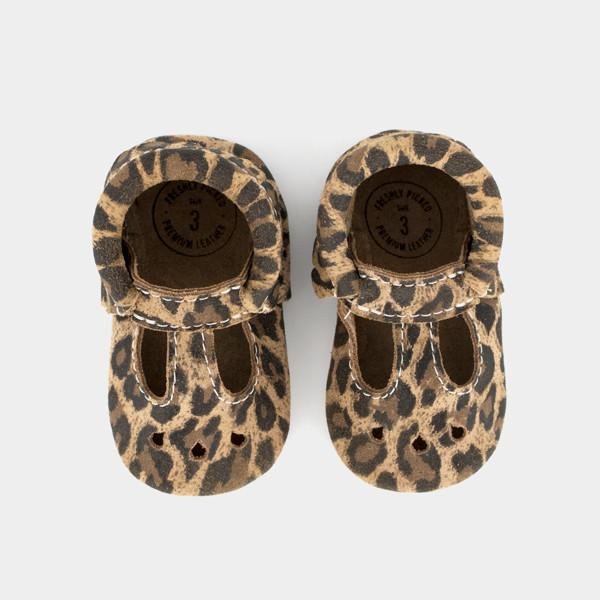 Leopard Mary Jane Mary Janes Soft Soles