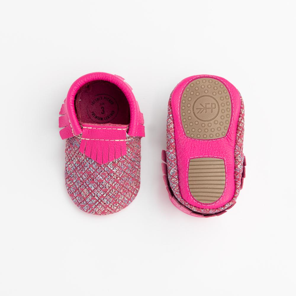 Magenta Tweed Mini Sole Mini Sole Mocc Mini soles