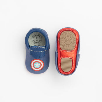 Marvel Captain America Mini Sole Mini Sole Mocc mini soles