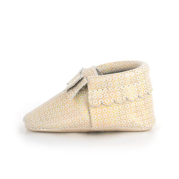 Merry and Bright Bow Mocc Bow Moccasins Soft Soles