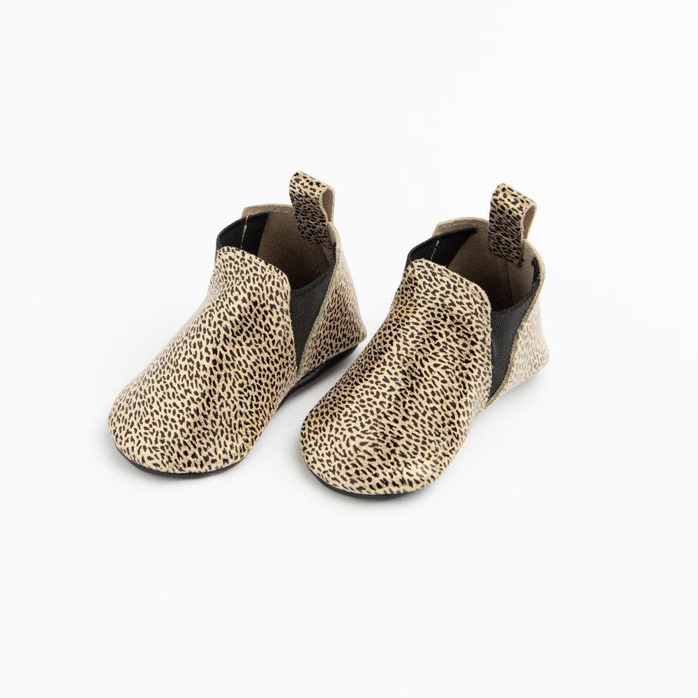 Metallic Leopard Chelsea Boot Mini Sole Mini Sole Chelsea Boot mini soles