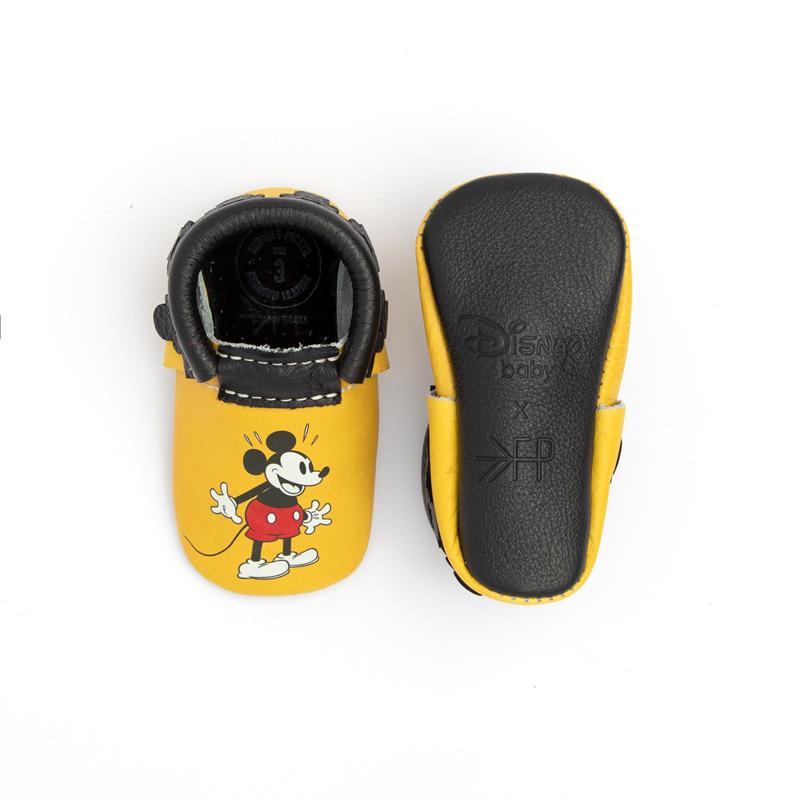 MICKEY FRlNGE Moccasins Soft Soles