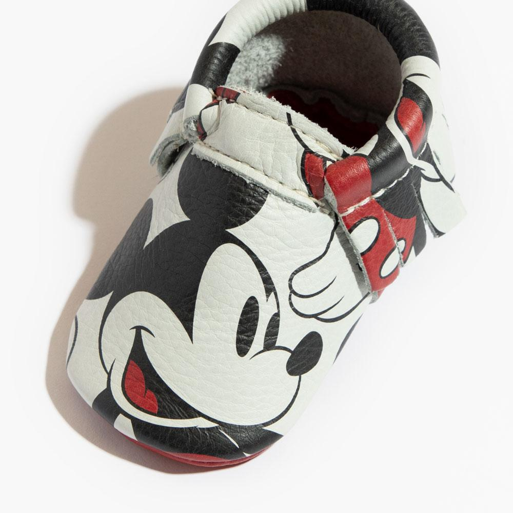 Mickey Mouse Moccasins Soft Soles