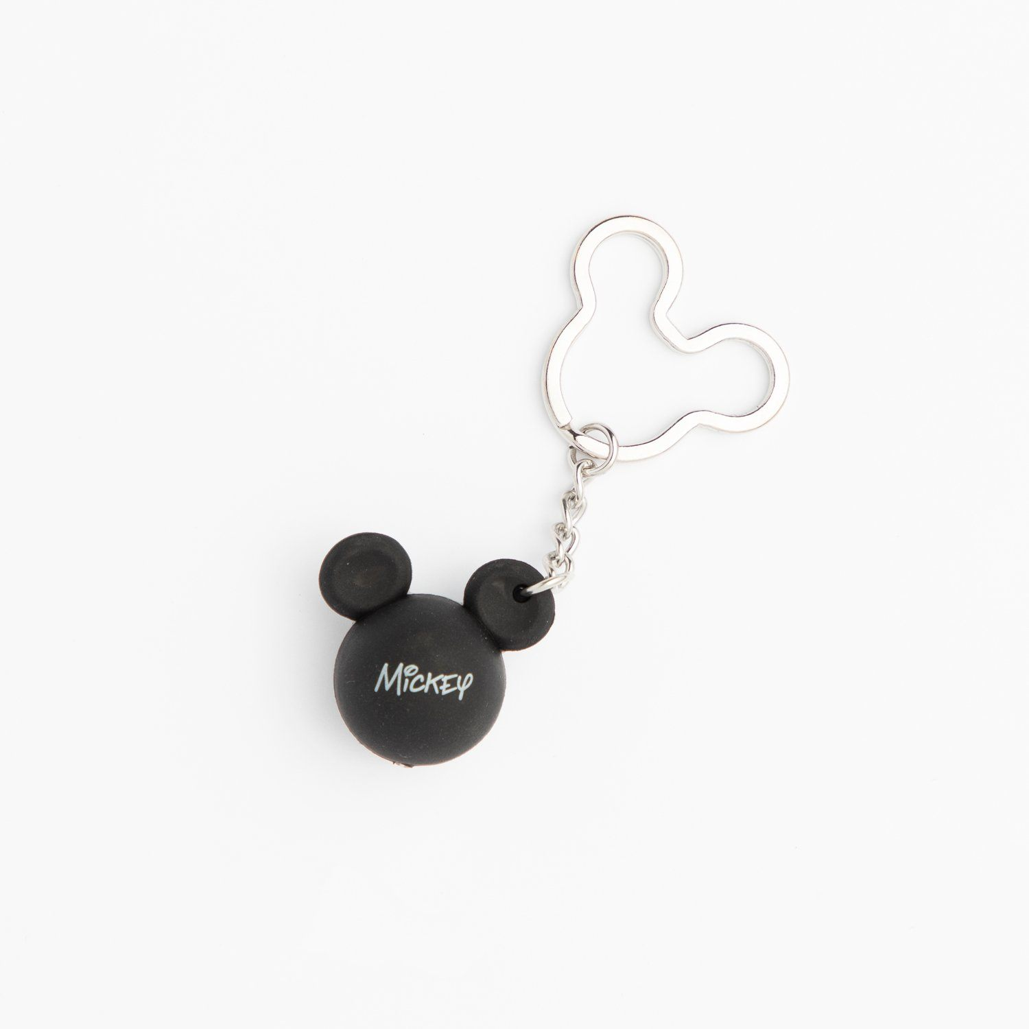 Black Mickey Keychain